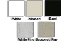Classic Vinyl Picket Fence - Superior Plastic Products