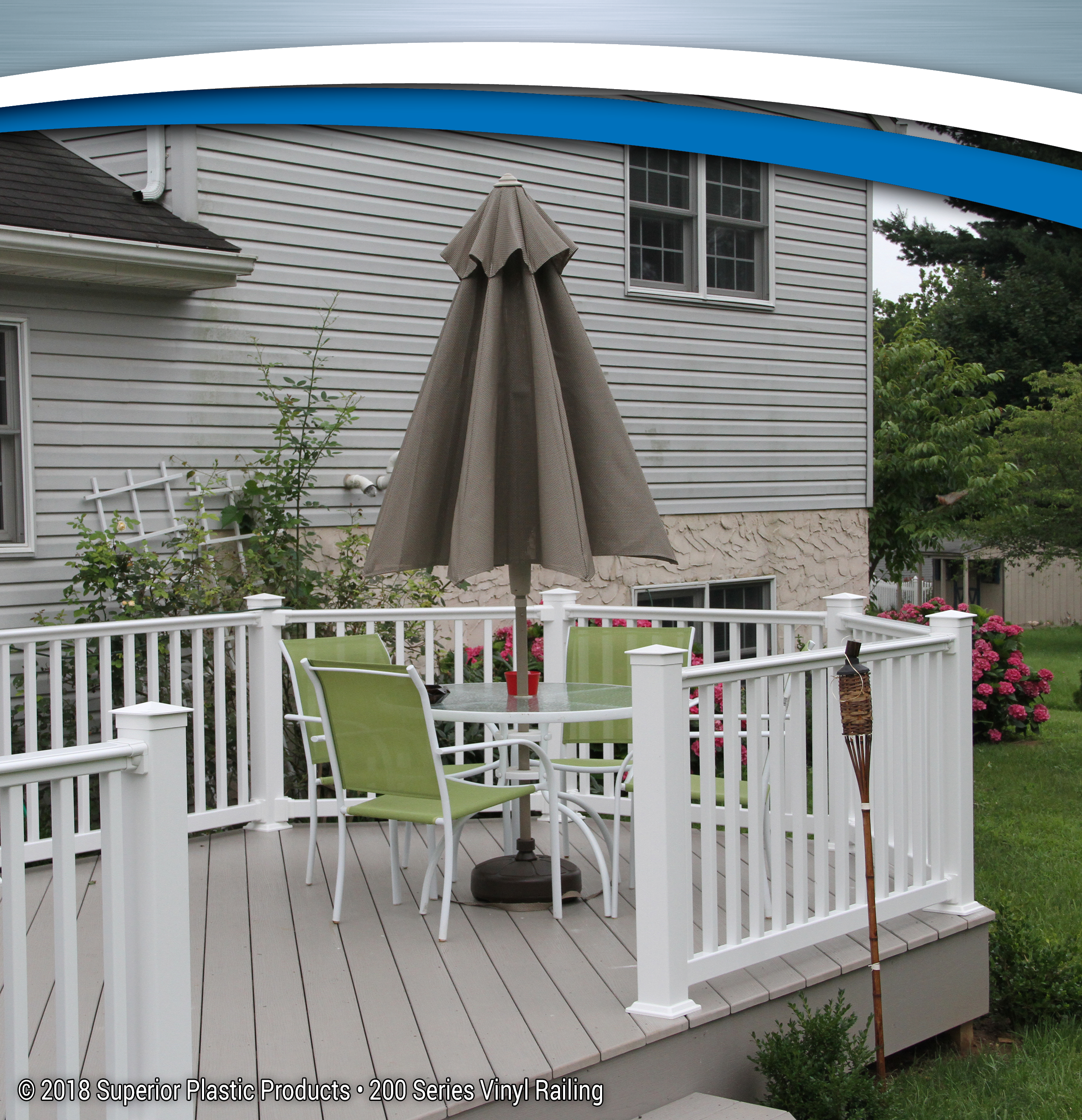 200 Series Vinyl Railing - Superior Plastic Products