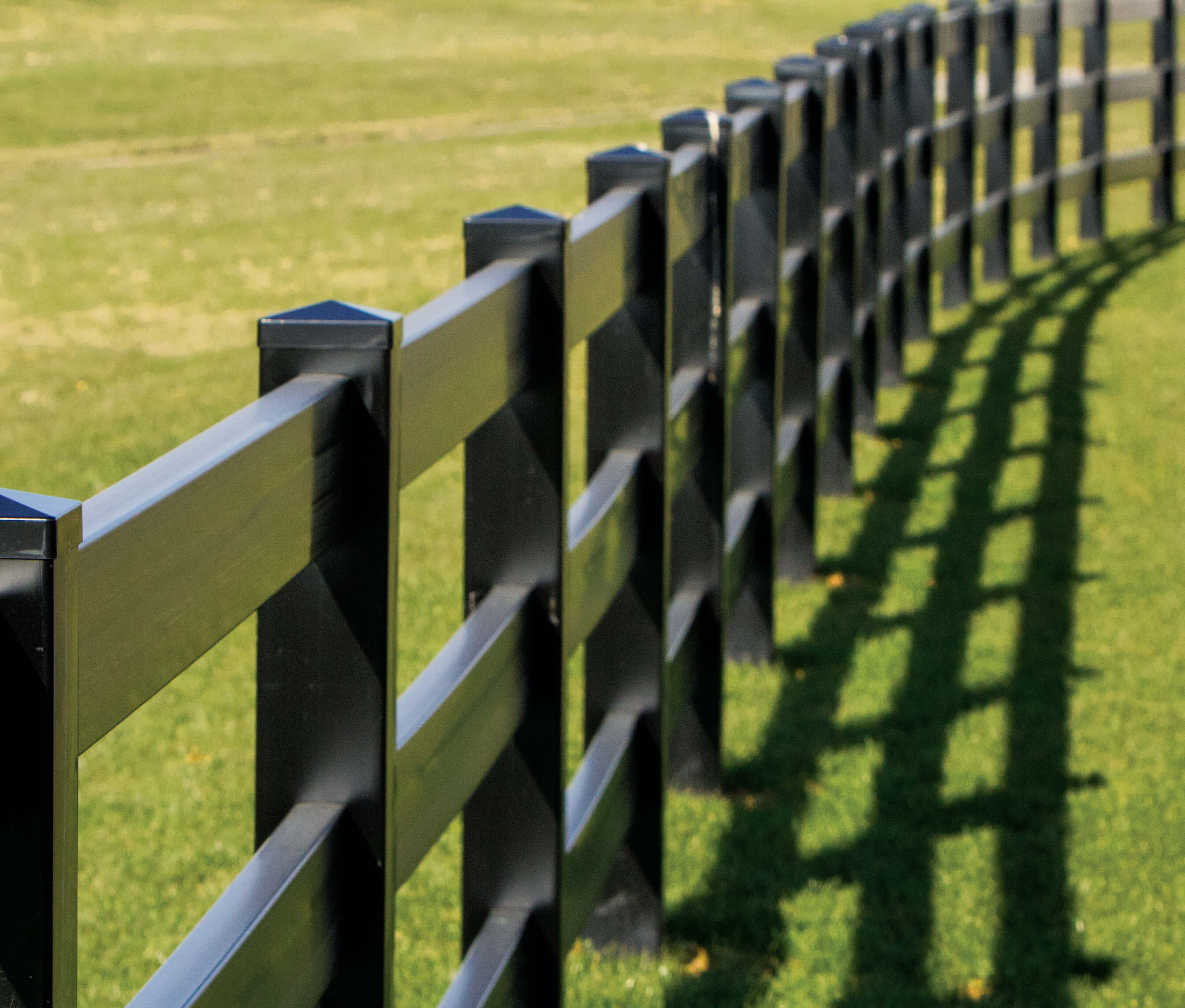 Vinyl Post & Rail Fencing