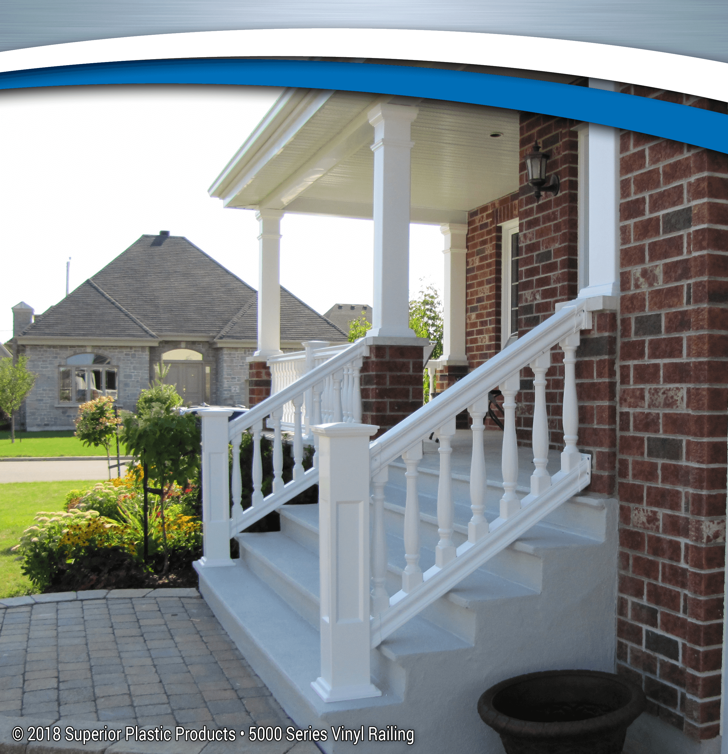 5000 Series Vinyl Railing - Superior Plastic Products