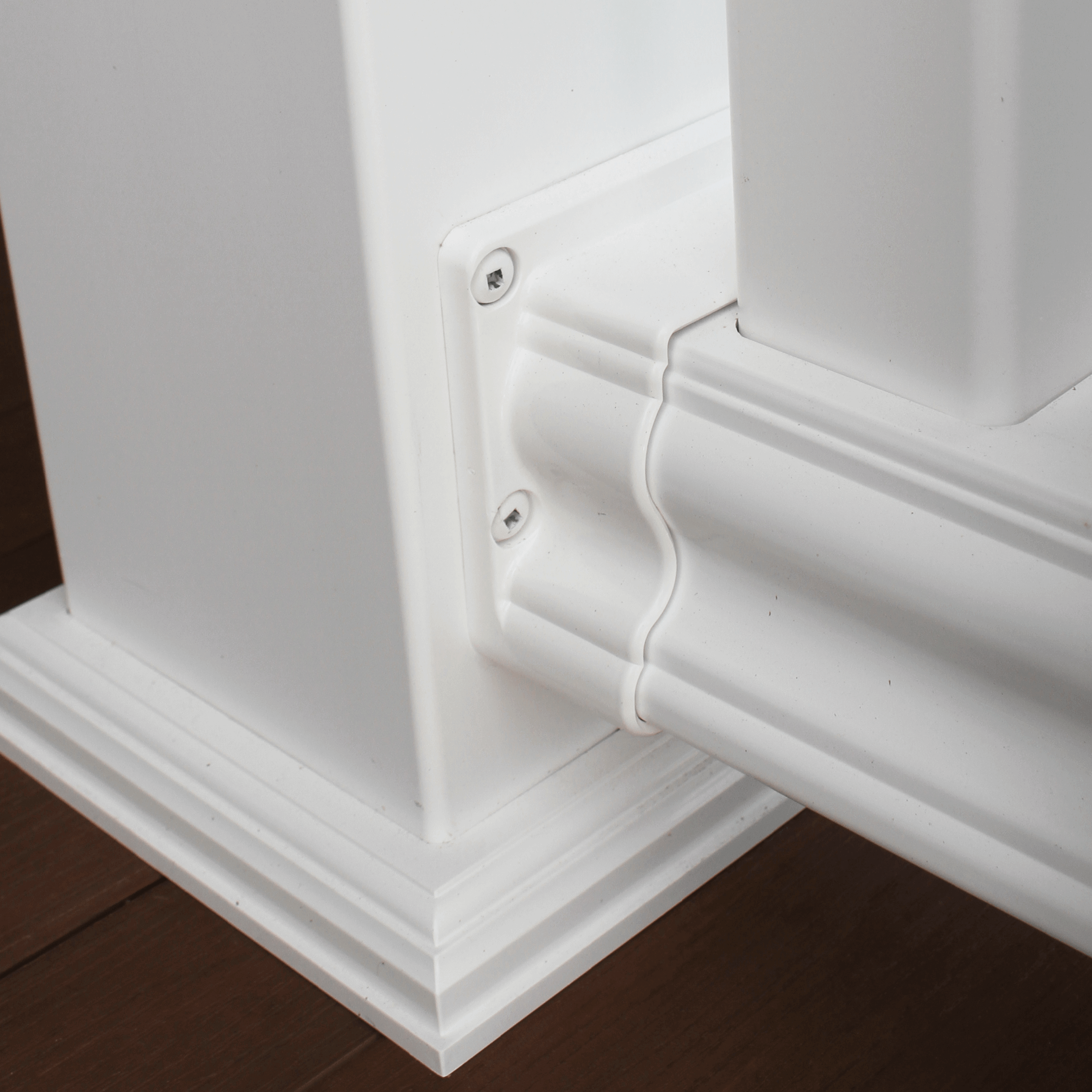 Vinyl Post Caps & Trim - 5000 Series Vinyl Railing - Superior Plastic Products