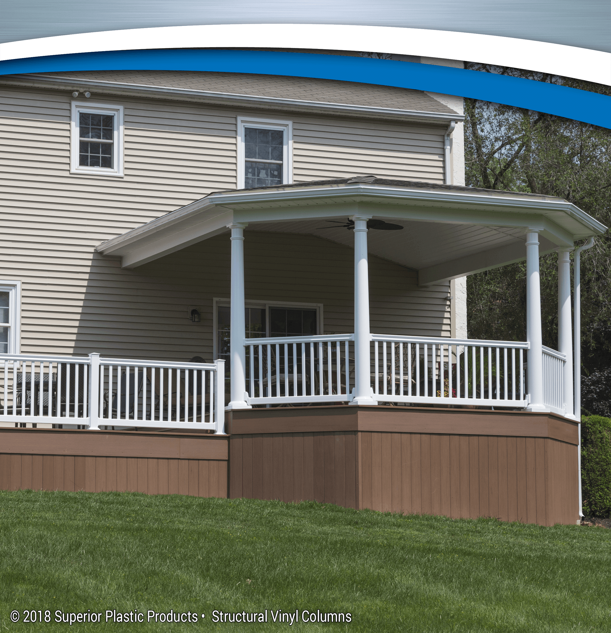 installing porch railings railing columns design decors posts ideas and x vinyl