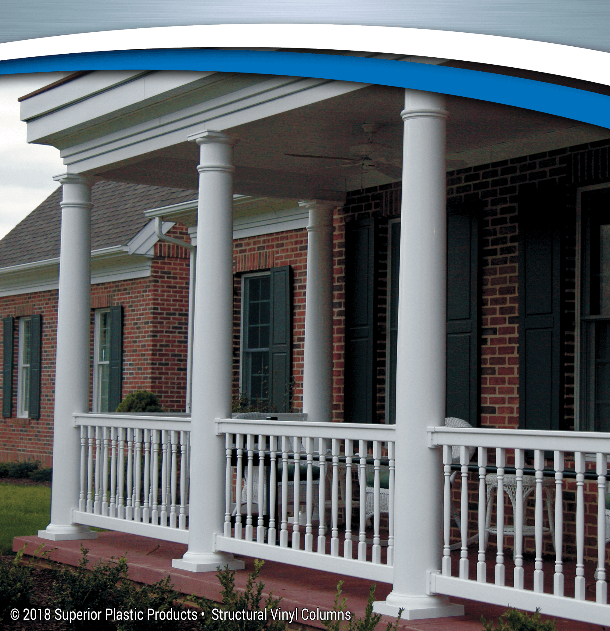 Structural Vinyl Columns - Superior Plastic Products