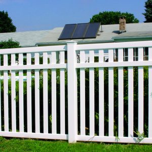 Vinyl Yard Fencing