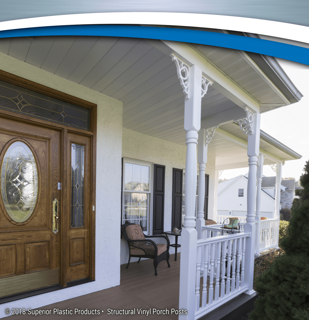 vinyl columns products superior cu structural porch high posts plastic made quality of