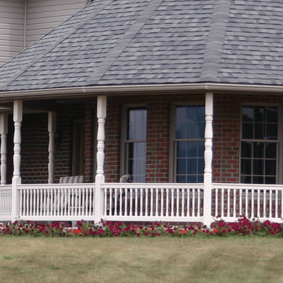 Structural Vinyl Porch Posts - Superior Plastic Products