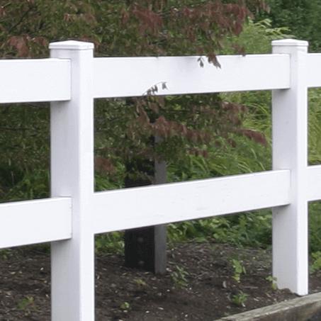 2 Rail Vinyl Fence - Superior Plastic Products
