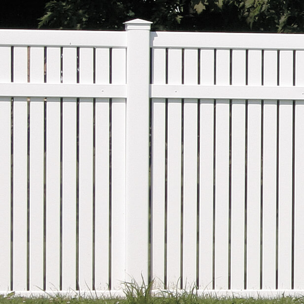 Imperial Vinyl Yard Fence Superior Plastic Products