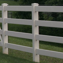4 Rail Vinyl Fence - Superior Plastic Products