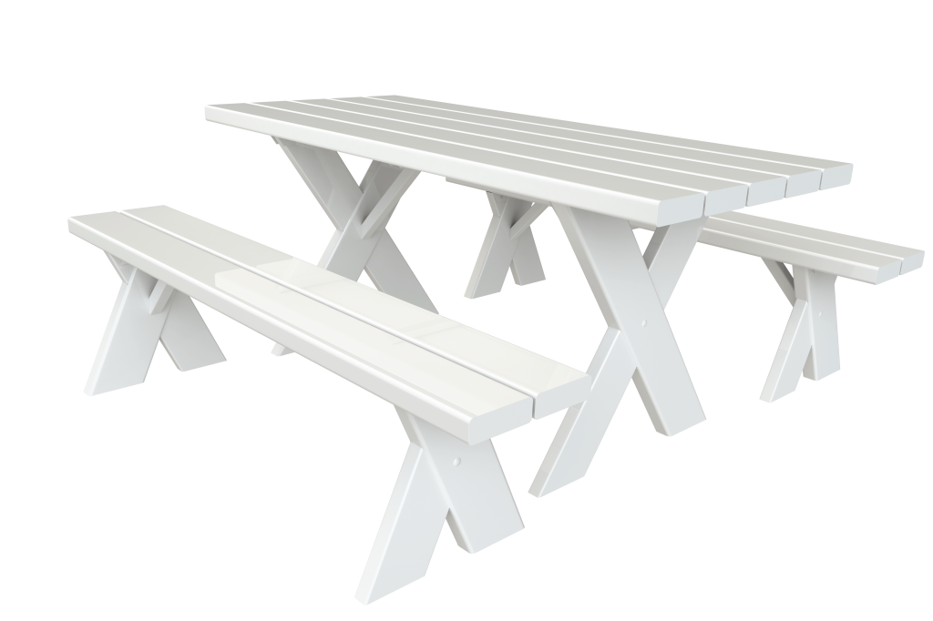 High Quality Vinyl Picnic Tables Superior Plactic Products