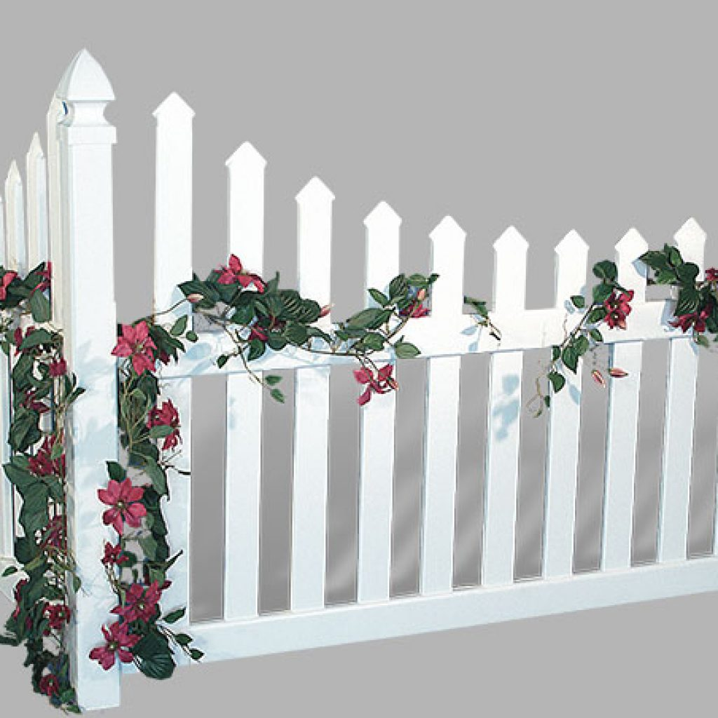 Accent Corner Vinyl Fences Superior Plastic Products