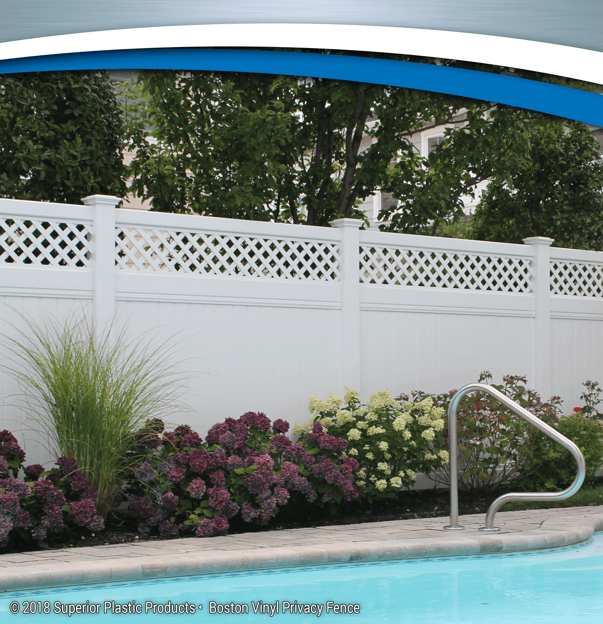 Boston Vinyl Privacy Fence - Superior Plastic Products