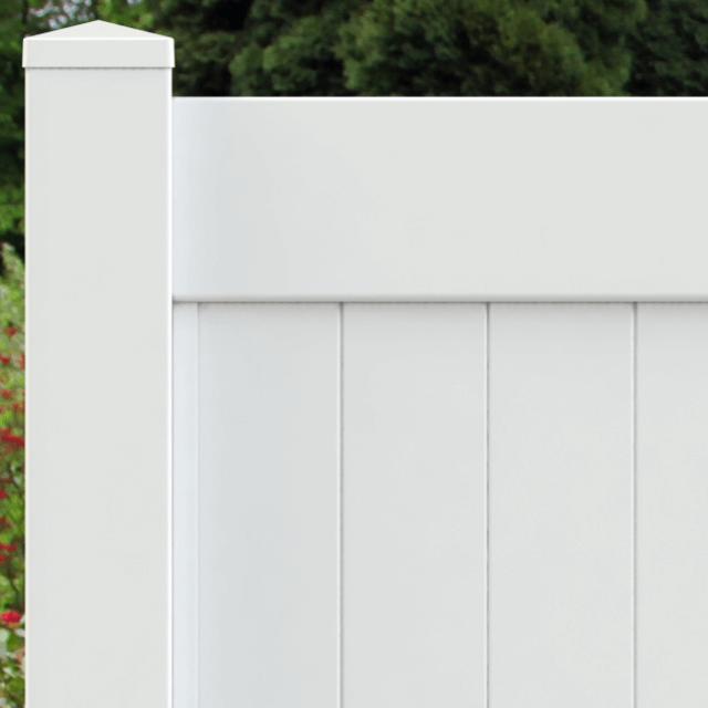 Cambridge Vinyl Privacy Fence - Superior Plastic Products
