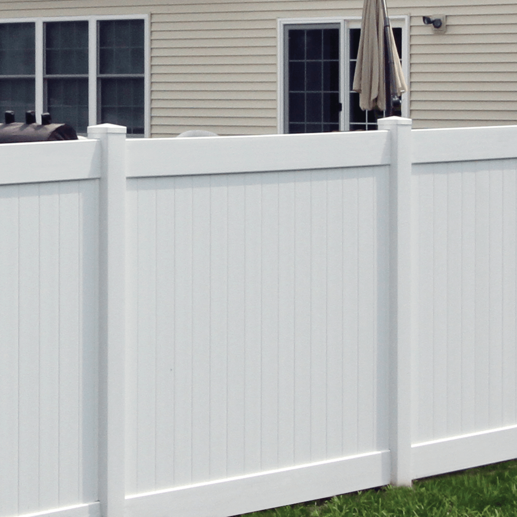Cambridge Vinyl Privacy Fence - Superior Plastic Products