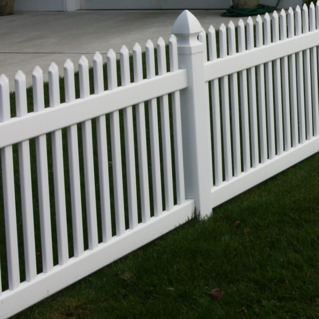 Classic Vinyl Picket Fence Superior Plastic Products