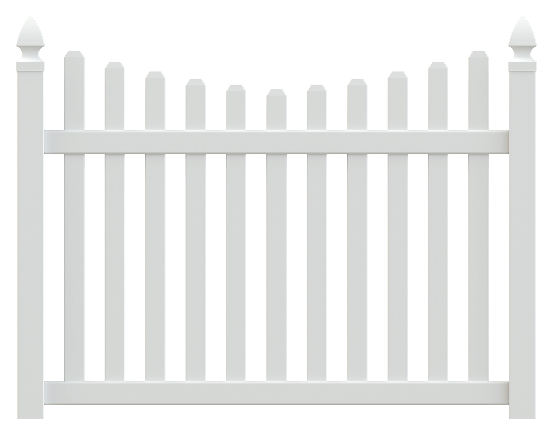Columbia Vinyl Picket Fence - Superior Plastic Products