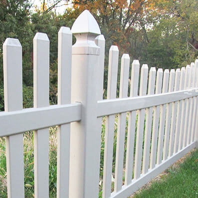 Columbia Vinyl Picket Fence - Superior Plastic Products