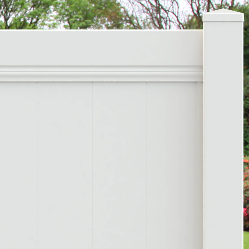 Manor Vinyl Privacy Fence - Superior Plastic Products