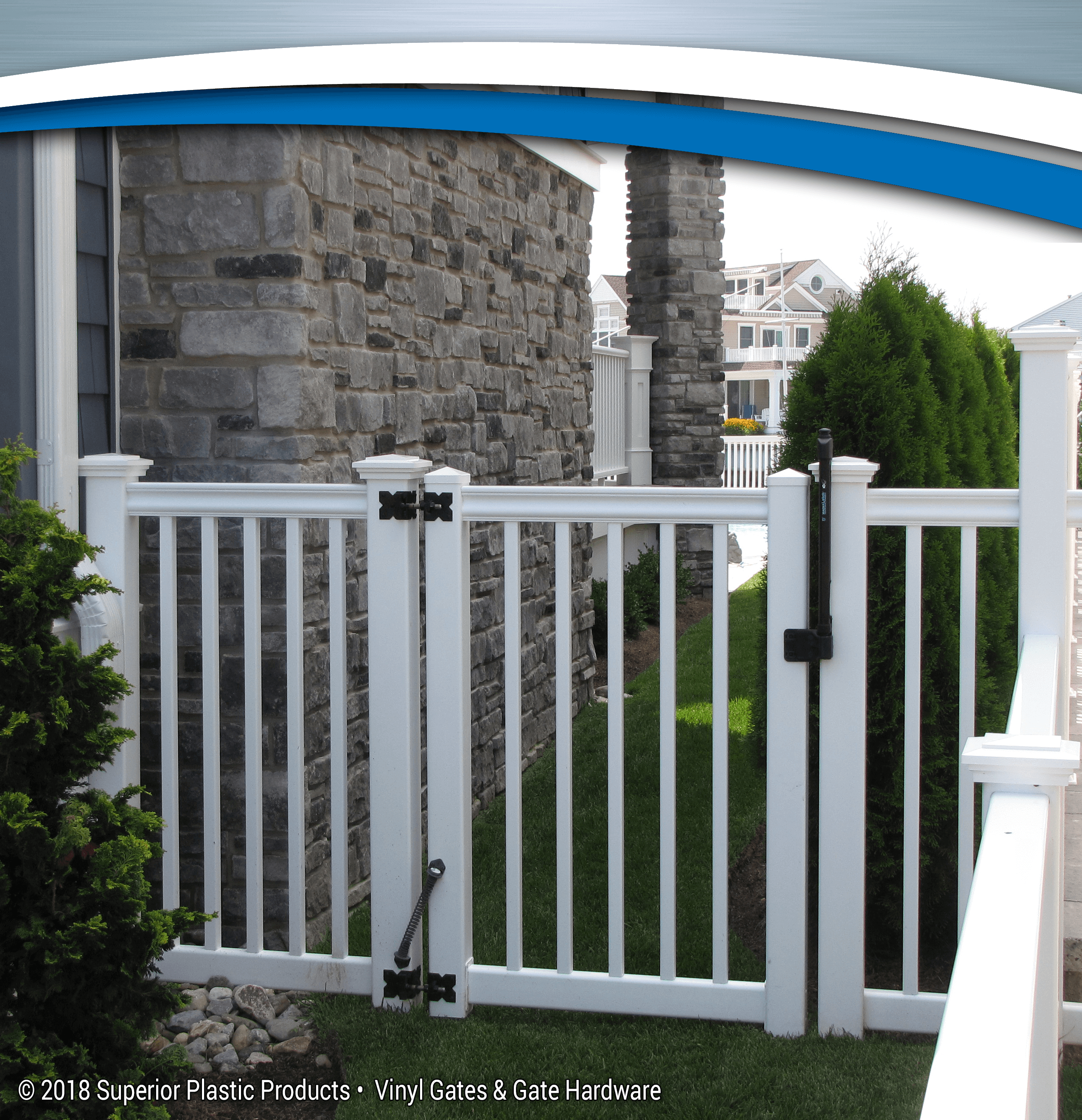 Vinyl Gates - Gate Hardware - Superior Plastic Products