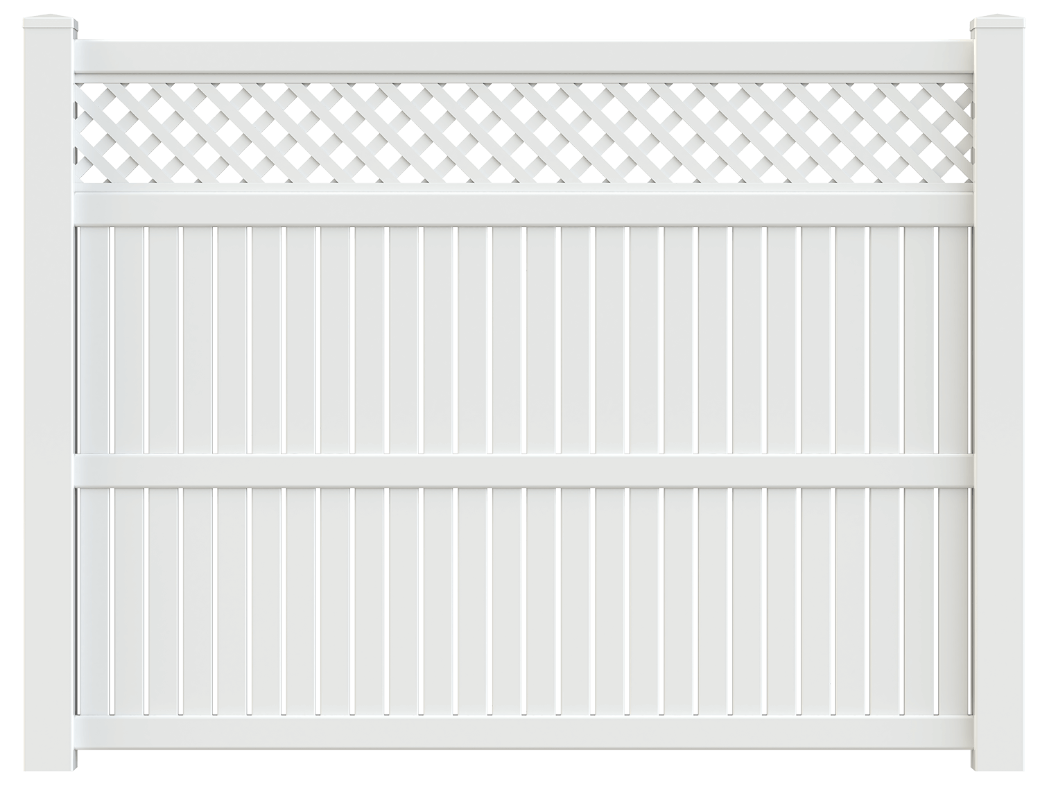 Imperial Vinyl Yard Fence - Superior Plastic Products