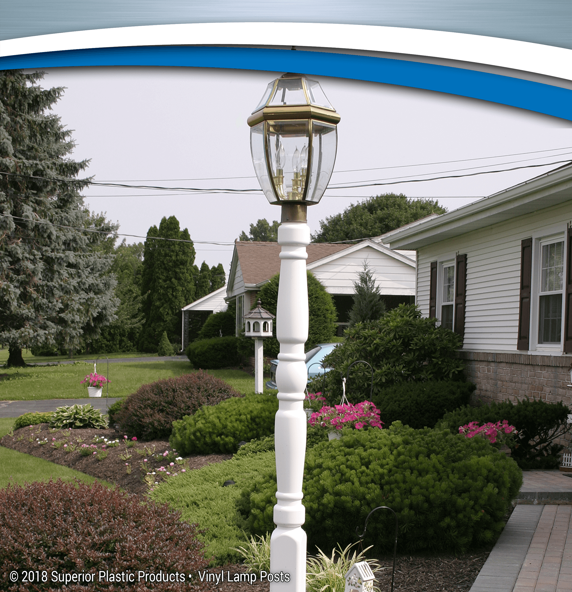 Quality Vinyl Lamp Posts Superior Plastic Products Inc