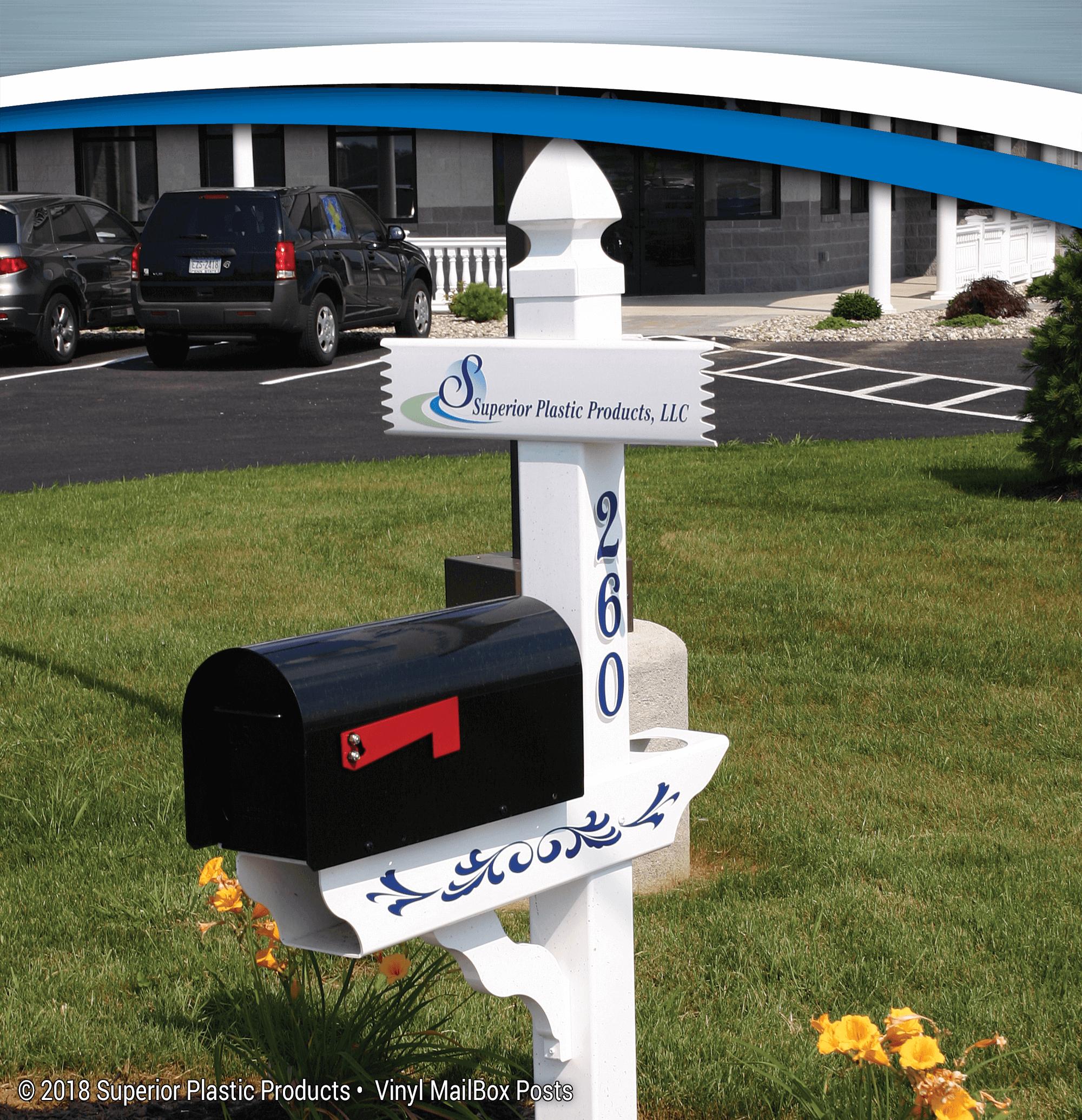 Vinyl Amp Aluminum Mailbox Posts Superior Plastic Products
