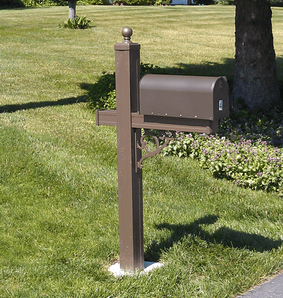 Post: Vinyl & Aluminum Mailbox Posts