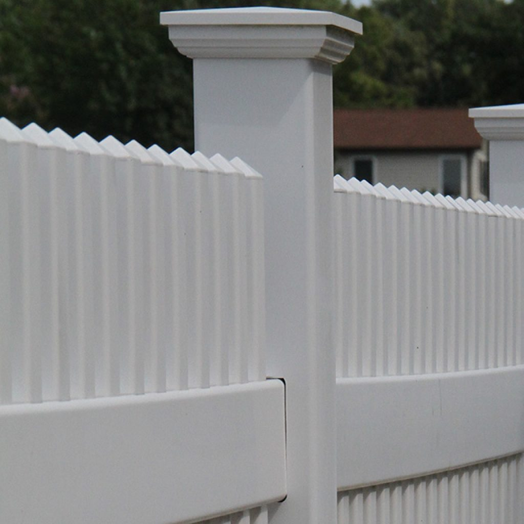 New England Vinyl Picket Fence Superior Plastic Products