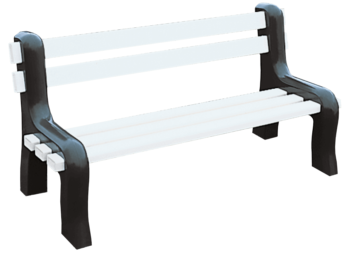 Vinyl Park Benches - Superior Plastic Products