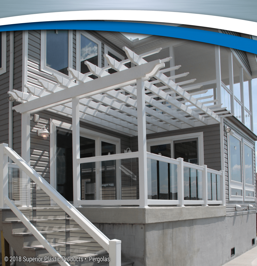Aluminum And Vinyl Pergolas Superior Plastic Products