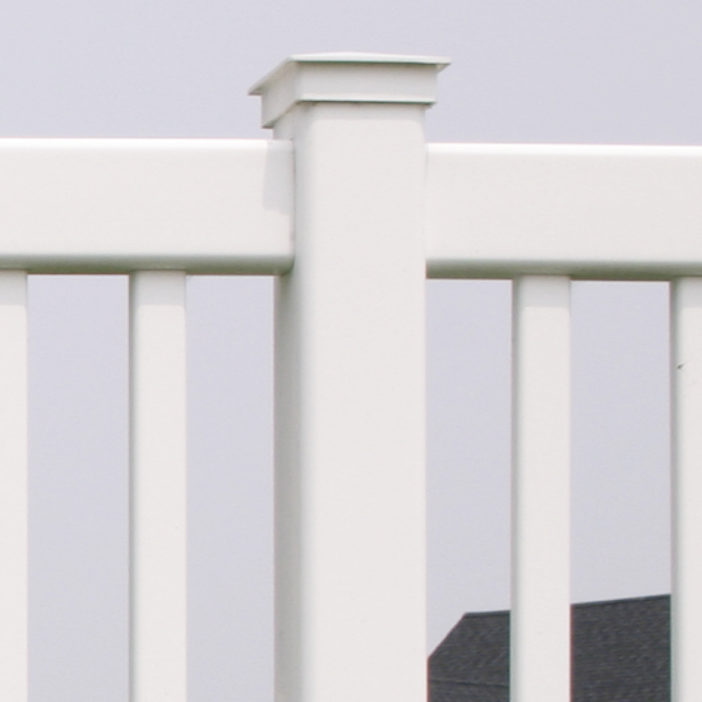 Victorian Vinyl Yard Fence Superior Plastic Products