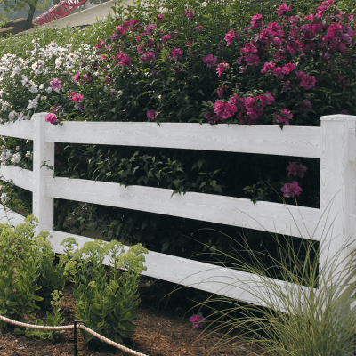 WoodTone Vinyl Fence - Superior Plastic Products