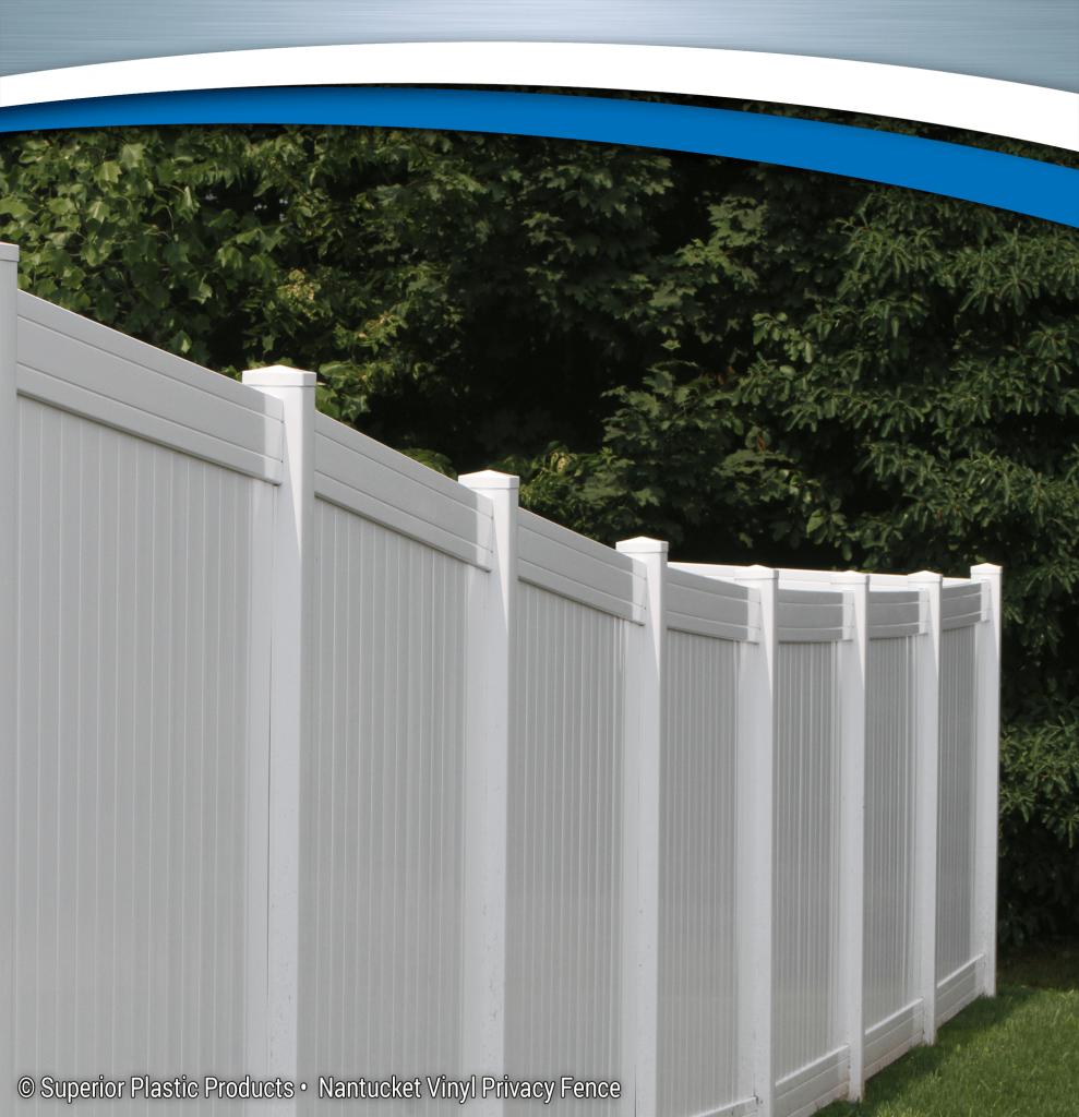 Nantucket Vinyl Privacy Fence