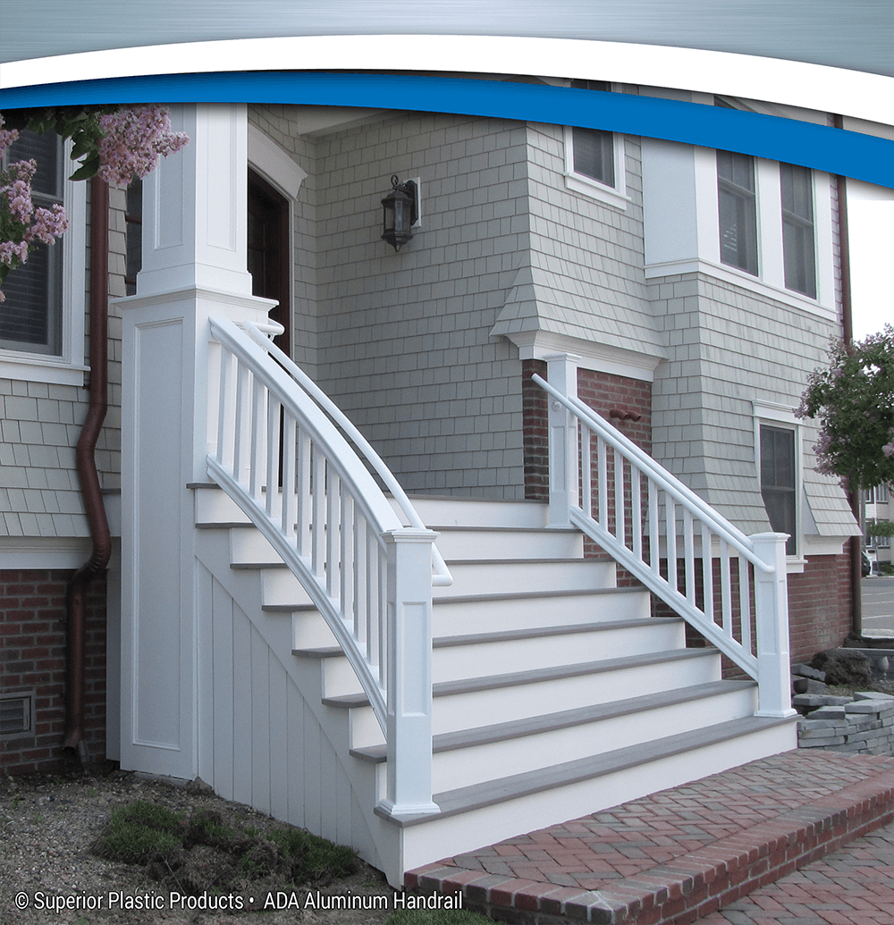 Ada Aluminum Handrail Superior Plastic Products Inc