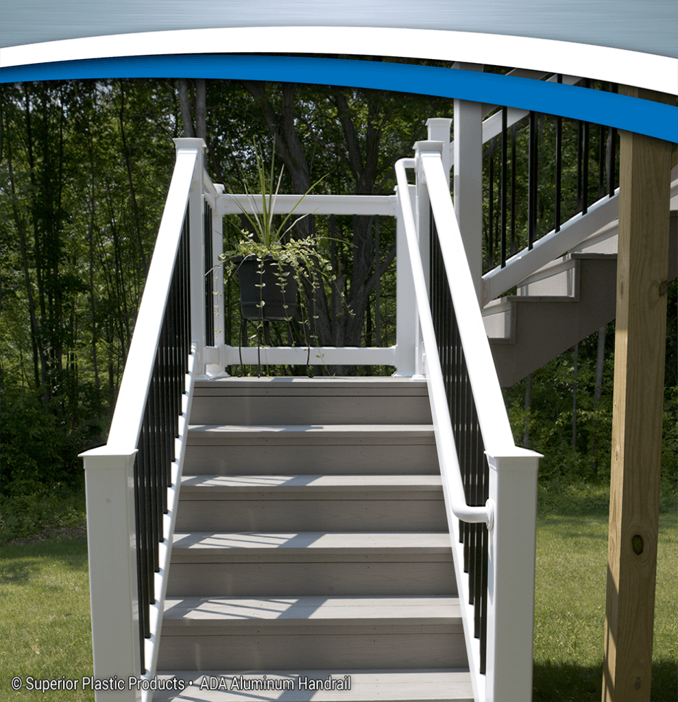 Ada Aluminum Handrail Superior Plastic Products Inc