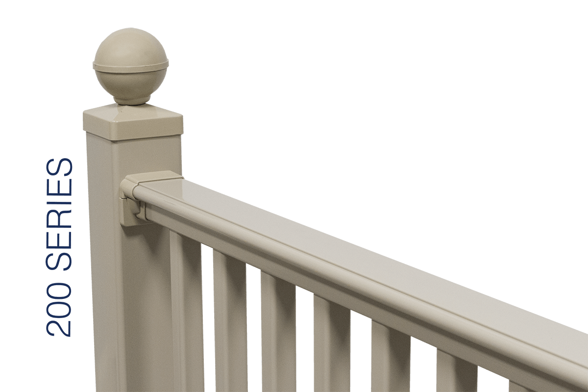 Compare Our Railing - 200 Series - Superior Plastic Products