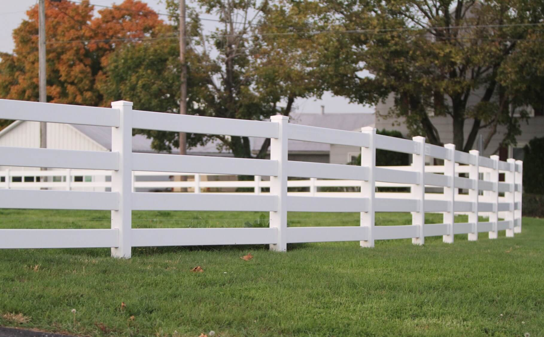 2 Rail Vinyl Post And Rail Fencing Fence Post Post And Rail Fence Fence